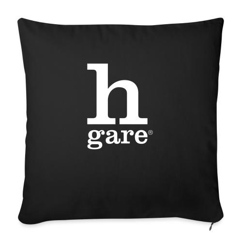 HGARE LOGO - Cuscino da divano 44 x 44 cm con riempimento