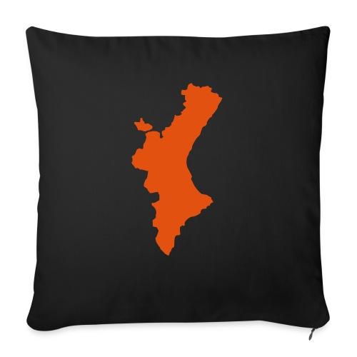 València - Cojín de sofá con relleno 44 x 44 cm