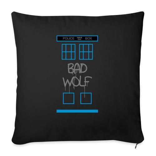 Doctor Who Bad Wolf - Cuscino da divano 44 x 44 cm con riempimento