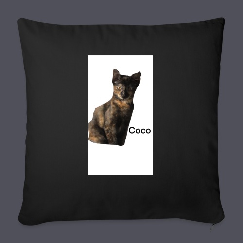 Coco the Kitten - Sofa pillow with filling 45cm x 45cm