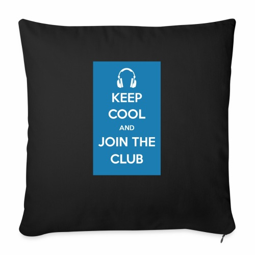 Join the club - Sofa pillow with filling 45cm x 45cm