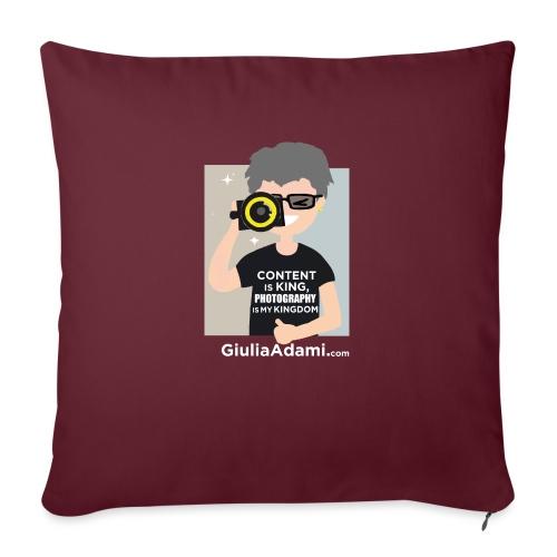 Giulia Adami - Cuscino da divano 44 x 44 cm con riempimento