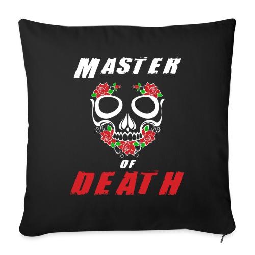 Master of death - white - Poduszka na kanapę z wkładem 44 x 44 cm