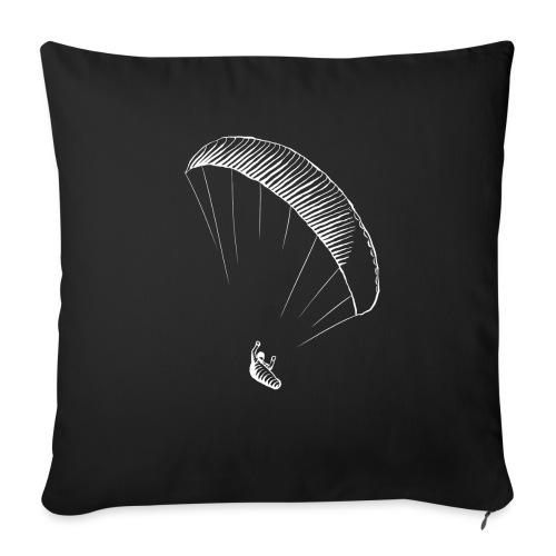 paraglider gerlitzen weiss - Sofakissen mit Füllung 44 x 44 cm