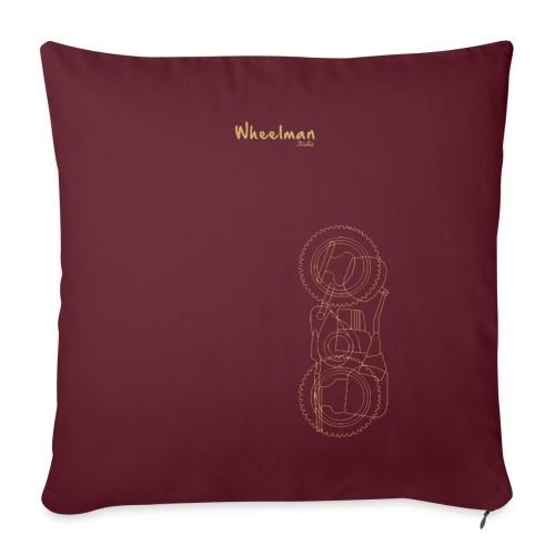 wheelman - Cuscino da divano 44 x 44 cm con riempimento