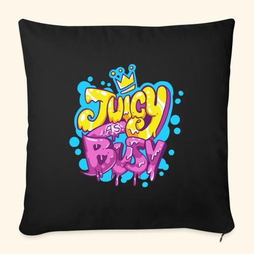 Juicy as Busy - Cojín de sofá con relleno 44 x 44 cm