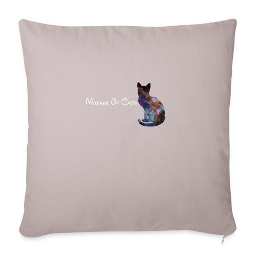 Mother Of Cats - Cuscino da divano 44 x 44 cm con riempimento