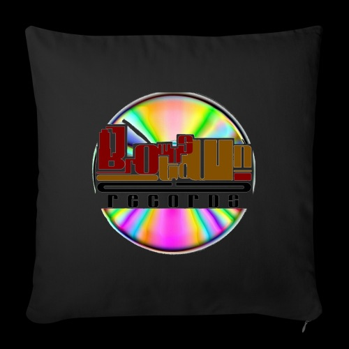 BROWNSTOWN RECORDS - Sofa pillow with filling 45cm x 45cm