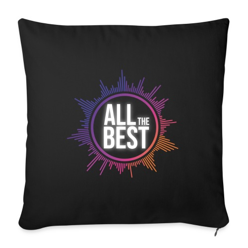 All The Best Logo - Sofa pillow with filling 45cm x 45cm