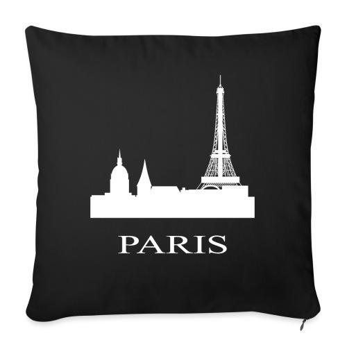Paris, Paris, Paris, Paris, France - Sofa pillow with filling 45cm x 45cm