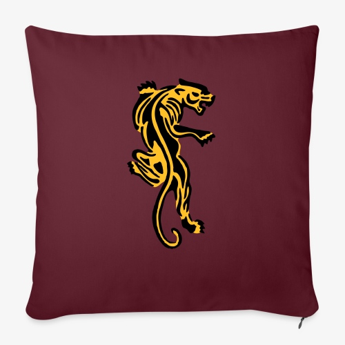 Tiger great cat design by patjila - Sofa pillow with filling 45cm x 45cm