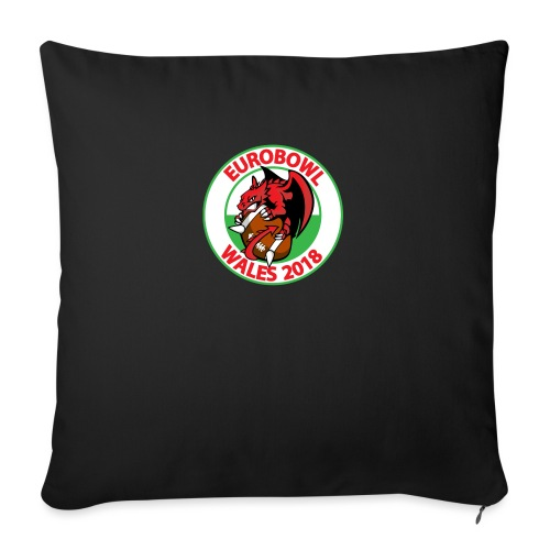 Eurobowl Wales 2018 - Sofa pillow with filling 45cm x 45cm