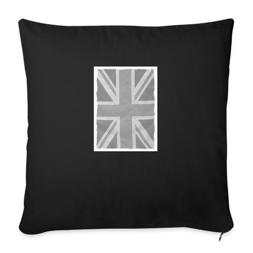 Grey Britainia - Sofa pillow with filling 45cm x 45cm