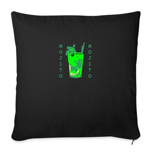 Mojito bicchiere colorato - Cuscino da divano 44 x 44 cm con riempimento