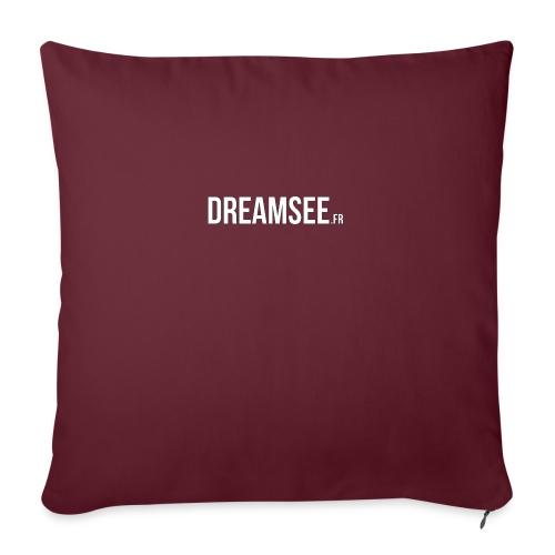 Dreamsee - Coussin et housse de 45 x 45 cm