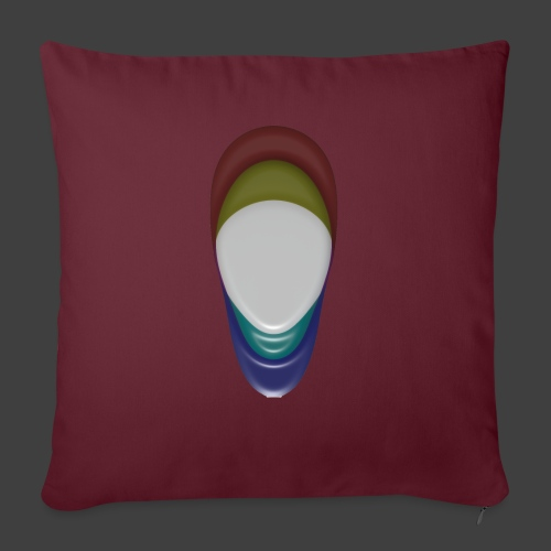 The veil - Sofa pillow with filling 45cm x 45cm