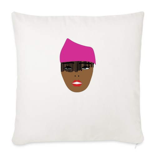 Pink lady - Soffkudde med stoppning 44 x 44 cm