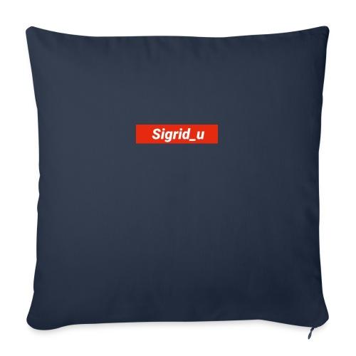 Sigrid_uBoxLogo - Sofapute med fylling 44 x 44 cm