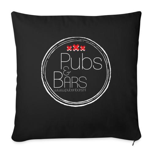 PubsnBars Merchandise - Bankkussen met vulling 44 x 44 cm