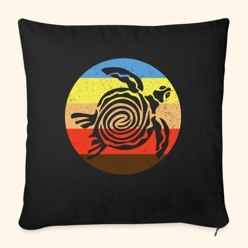 Barbudan Turtle Retro - Sofa pillow with filling 45cm x 45cm
