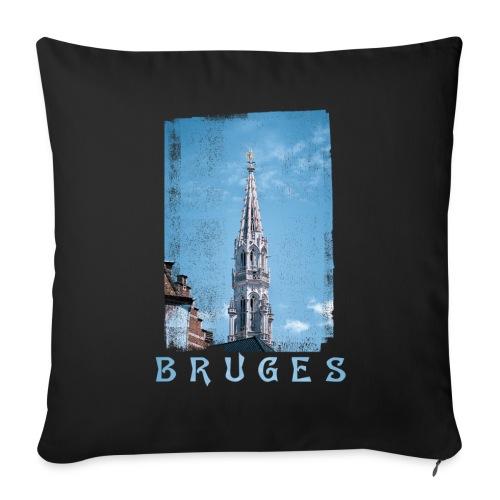 Bruges | Belfort - Bankkussen met vulling 44 x 44 cm