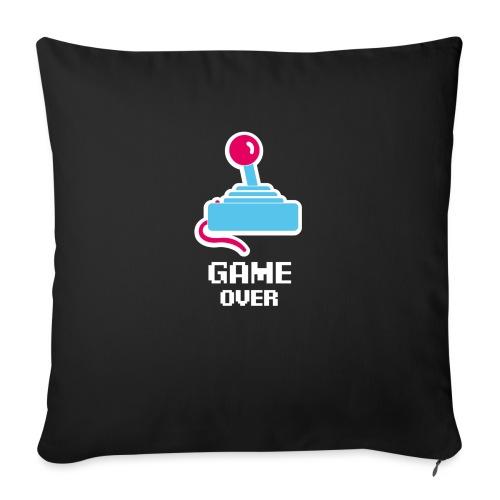 GameoverLogotekst - Bankkussen met vulling 44 x 44 cm