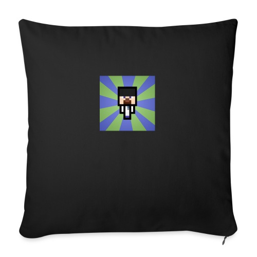 Baxey main logo - Sofa pillow with filling 45cm x 45cm