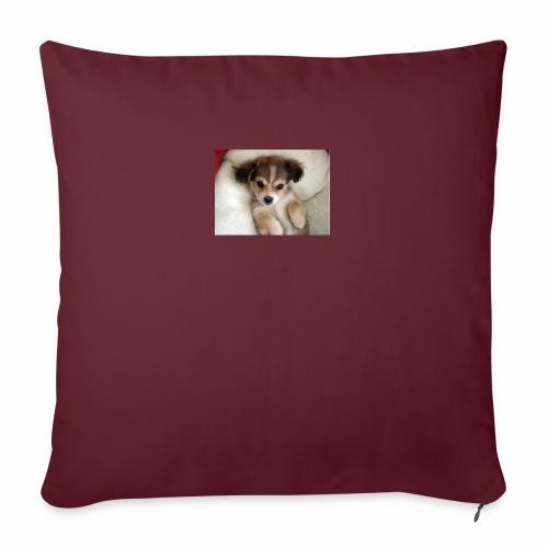 dog - Poduszka na kanapę z wkładem 44 x 44 cm