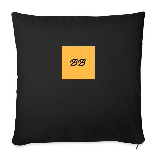 Logo - Sofapude med fyld 44 x 44 cm
