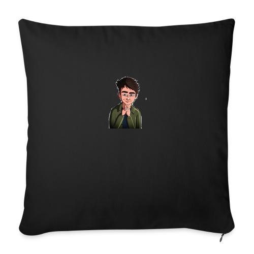 Turtle Vibez Logo - Sofa pillow with filling 45cm x 45cm