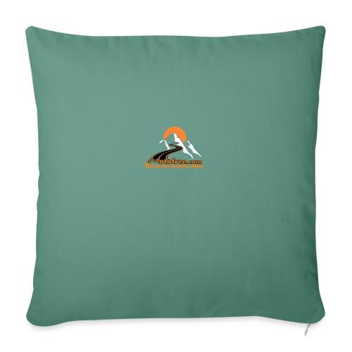 logo motofree orange - Coussin et housse de 45 x 45 cm