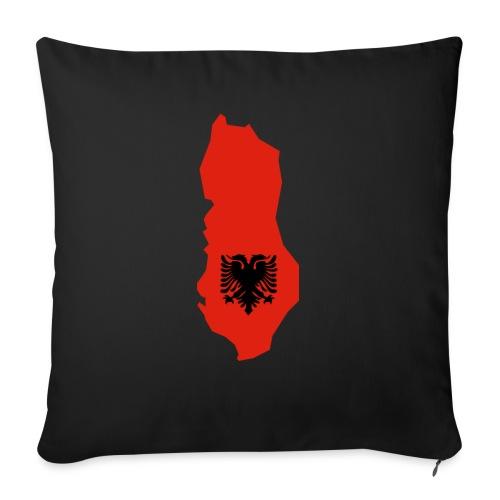 Albania - Bankkussen met vulling 44 x 44 cm