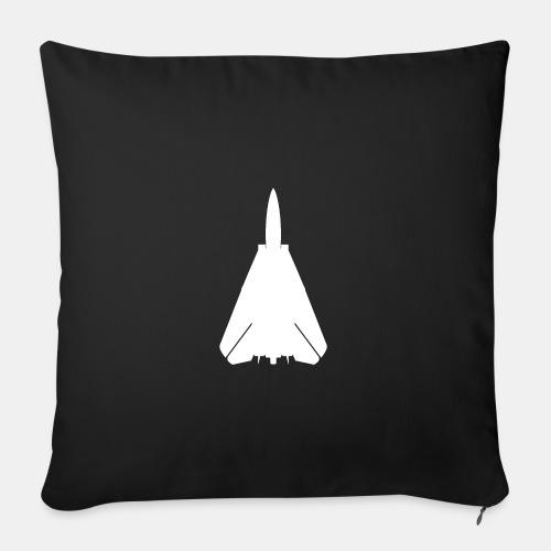 F-14 Tomcat jet fighter / F14 / F 14 - Sofa pillow with filling 45cm x 45cm