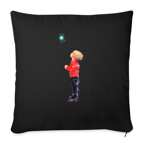 The Boy and the Blue - Sofa pillow with filling 45cm x 45cm