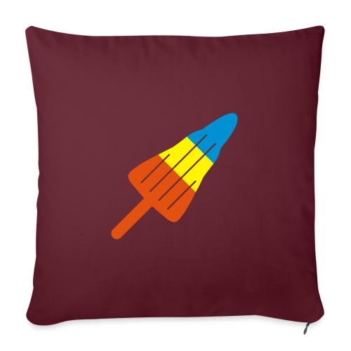 ZOOM ROCKET LOLLY: choose three different flavours - Sofa pillow with filling 45cm x 45cm