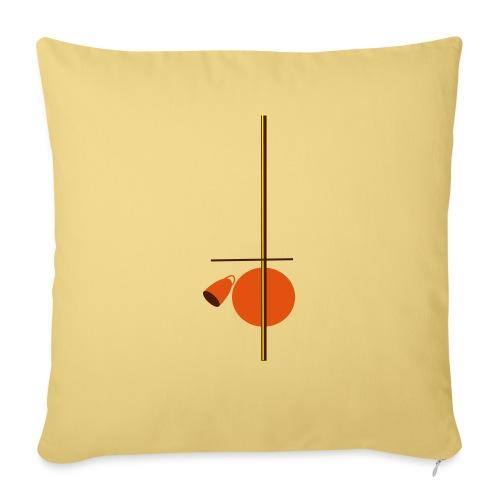 berimbau caxixi - Sofa pillow with filling 45cm x 45cm