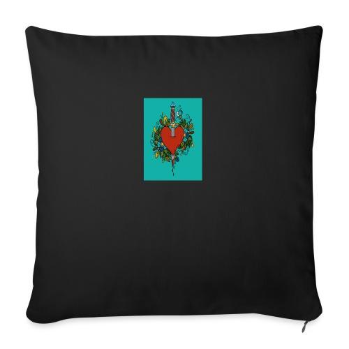 Heart - Cuscino da divano 44 x 44 cm con riempimento