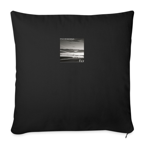we can fly tshirts - Sofa pillow with filling 45cm x 45cm