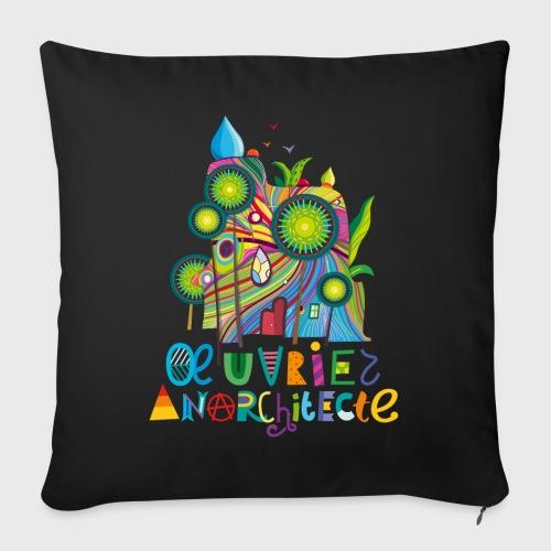 Anarchitecte - Coussin et housse de 45 x 45 cm