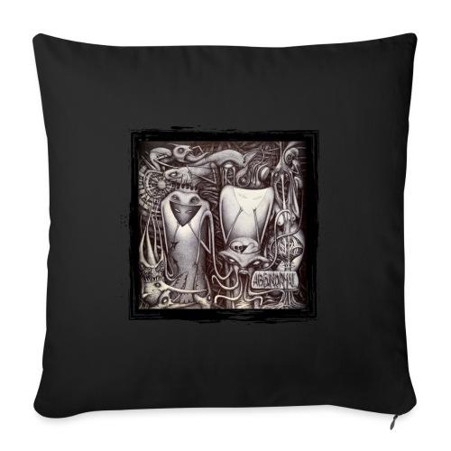 Abbinormal.....GrindCore Metal Band - Cuscino da divano 44 x 44 cm con riempimento