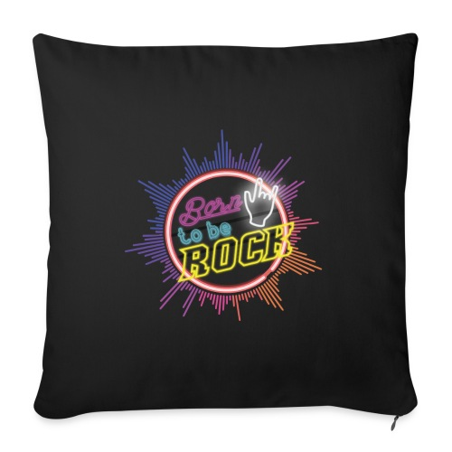 born to be rock - Sofa pillow with filling 45cm x 45cm