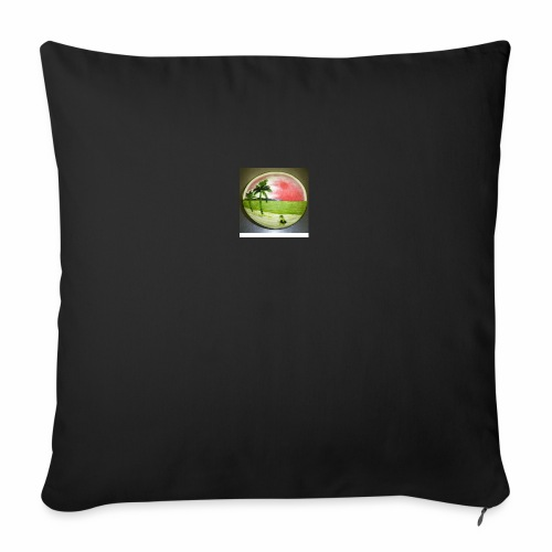 melon view - Sofa pillow with filling 45cm x 45cm