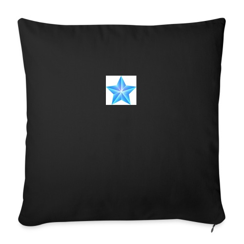 blue themed christmas star 0515 1012 0322 4634 SMU - Sofa pillow with filling 45cm x 45cm