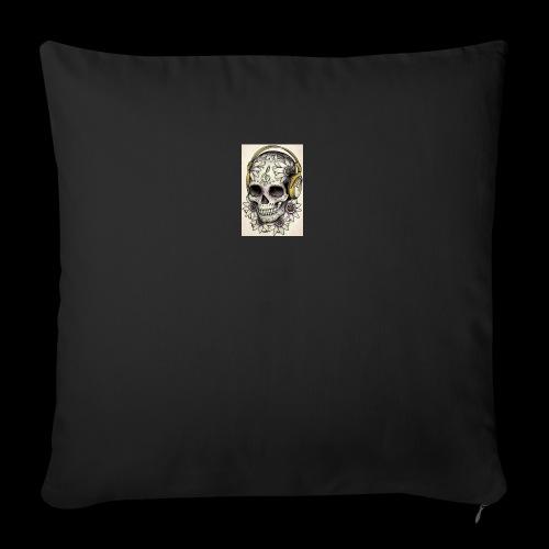 ab7a6a89ac2078fff2dd245fb15abaaf skull tattoo des - Bankkussen met vulling 44 x 44 cm
