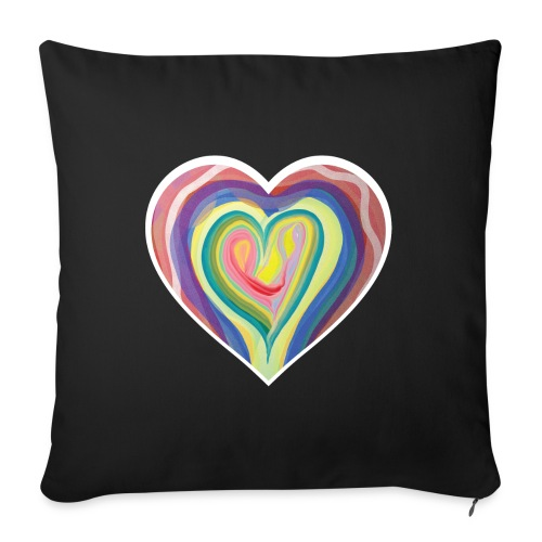 The art of love - Sofa pillow with filling 45cm x 45cm