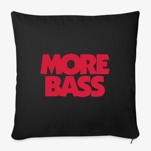 More Bass Bassist Bassisten - Sofakissen mit Füllung 44 x 44 cm