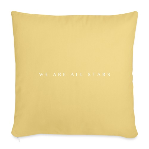 Galaxy Music Lab - We are all stars - Sofapude med fyld 44 x 44 cm