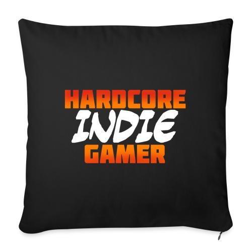 H_rdcore Indie Gamer - Sofakissen mit Füllung 44 x 44 cm