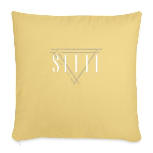 Seele Logo - American Apparel Huppari - Sohvatyynyt täytteellä 44 x 44 cm