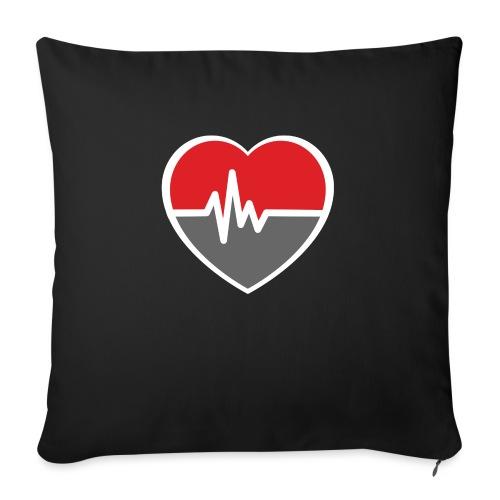 RaveHeart - Flowjob - Sofa pillow with filling 45cm x 45cm